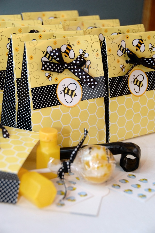 A Bumble Bee Birthday Party