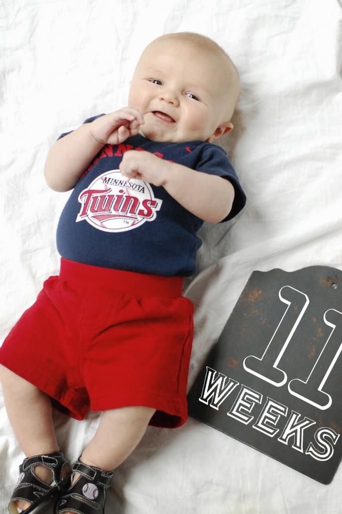 Caleb 11 Weeks
