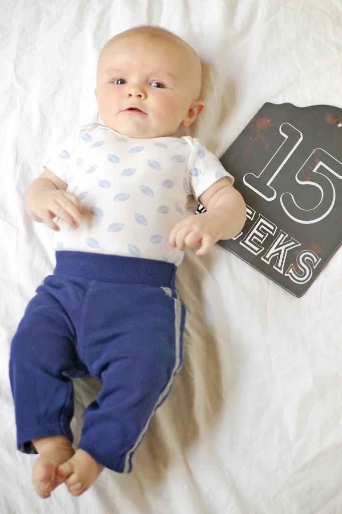 Caleb 15 Weeks