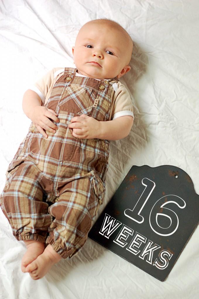 Caleb 16 Weeks