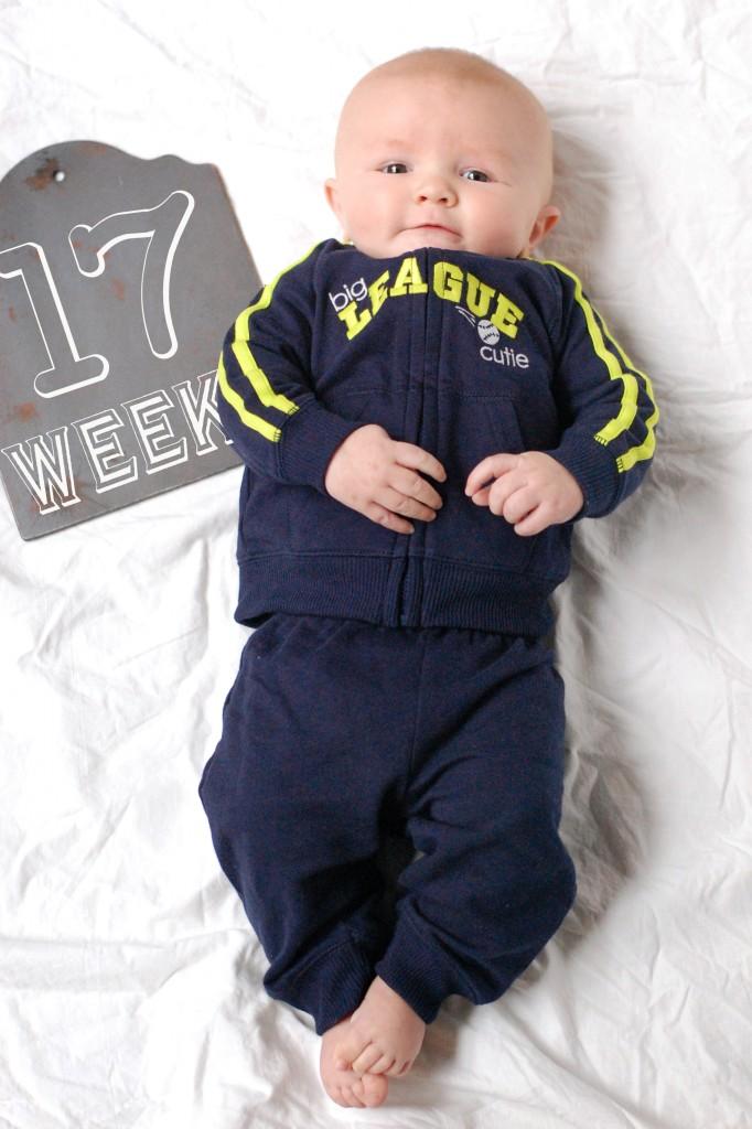 Caleb 17 Weeks