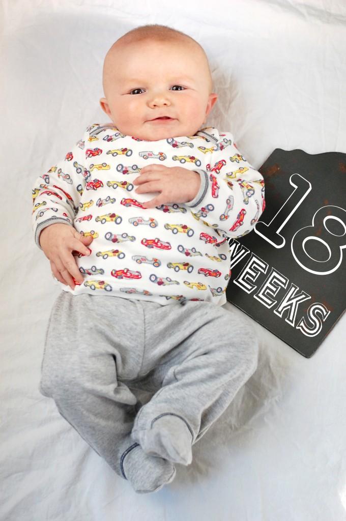Caleb 18 Weeks