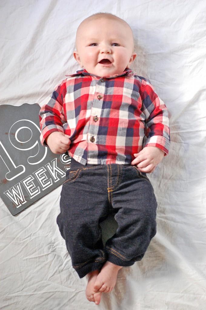 Caleb 19 Weeks
