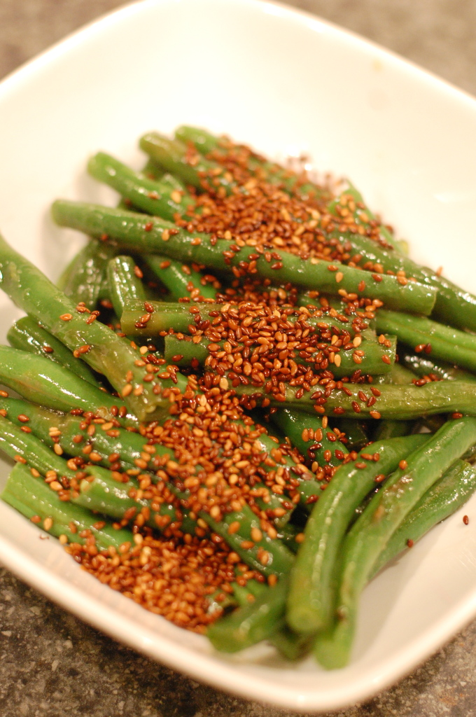 Easy Asian Green Beans | BobbleHeadBaby