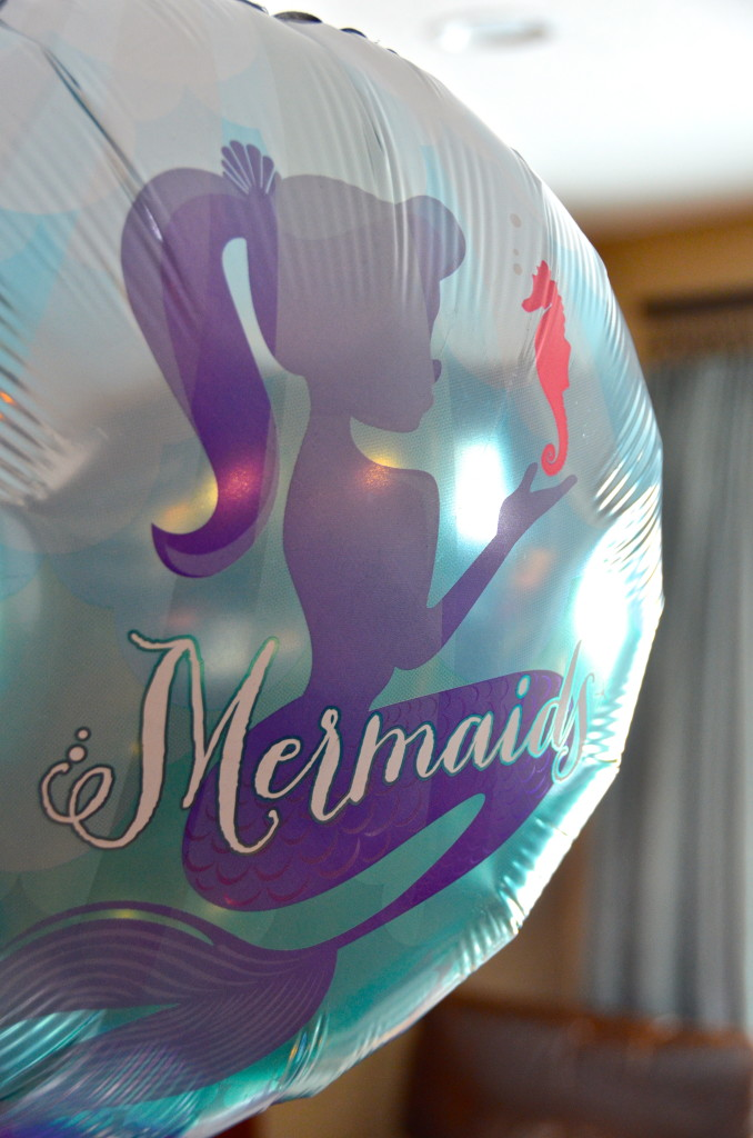 mermaid party balloon