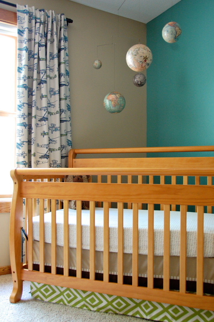 boy world travel nursery